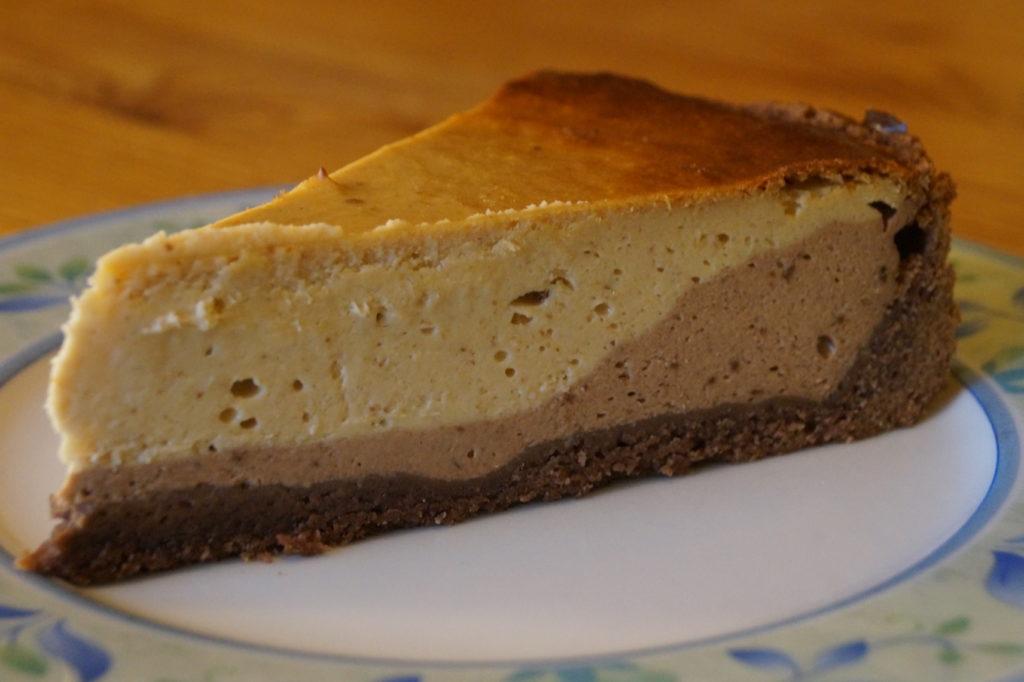 Cheesecake mit Erdnussbutter