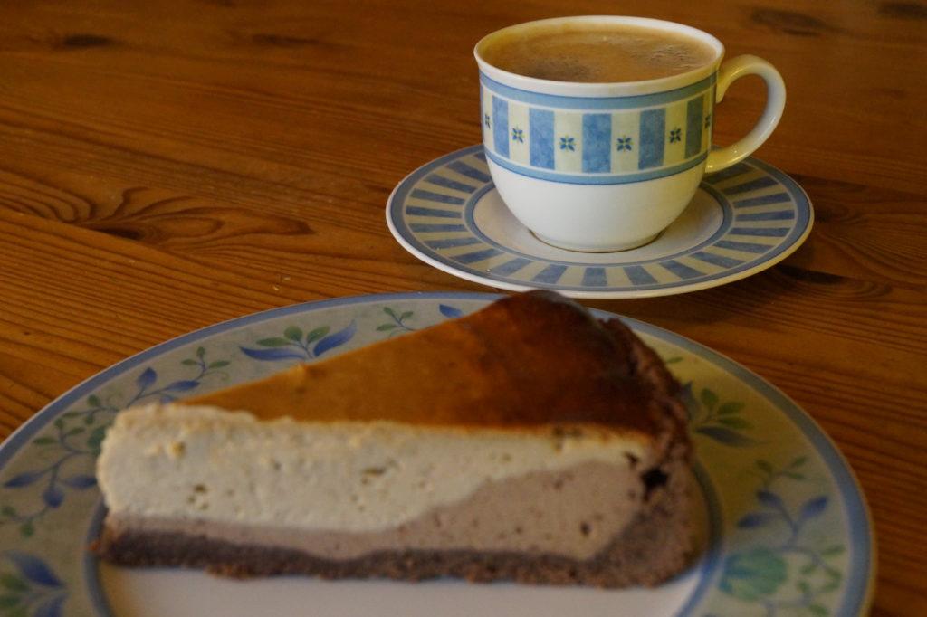 Erdnussbutter-Schoko-Cheesecake