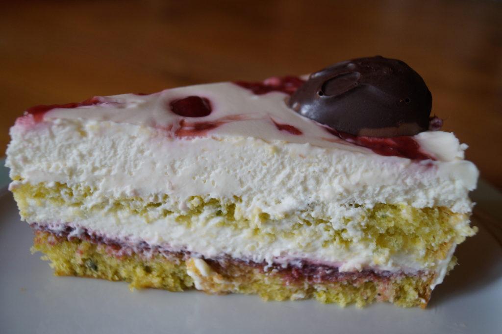Pistazien-Zitronencreme-Torte