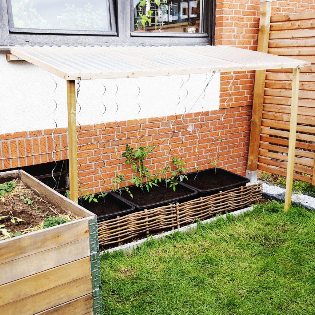 Gärtnern bei Dauerregen